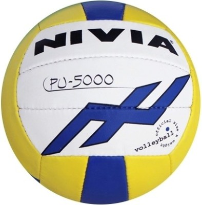 Nivia Dynamic PU-5000 Volleyball - Size: 4(Multicolor)  available at flipkart for Rs.679