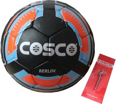 Cosco Berlin Football   Size: 5 Pack of 1, Black