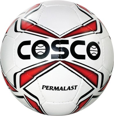 Cosco PERMALAST Football Size-5 Football - Size: 5(Pack of 1, Red, Yellow, Blue, Grey, Orange)  available at flipkart for Rs.755