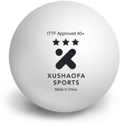 Xushaofa Seamless Table Ping Pong Ball -   Size: Standard(Pack of 6, White)