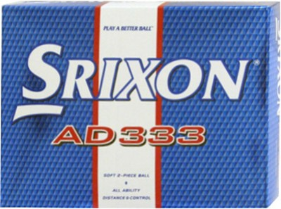 Srixon AD333 Golf Ball(Pack of 12, White)