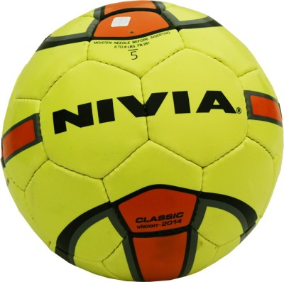 Nivia Classic Green Football -   Size: 4(Pack of 1, Green)