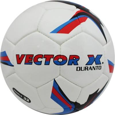 Vector X Duranto Football   Size: 5 White Vector X Footballs
