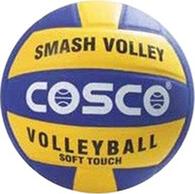COSCO Smash Volleyball   Size: 4 Pack of 1, Multicolor COSCO Volleyballs