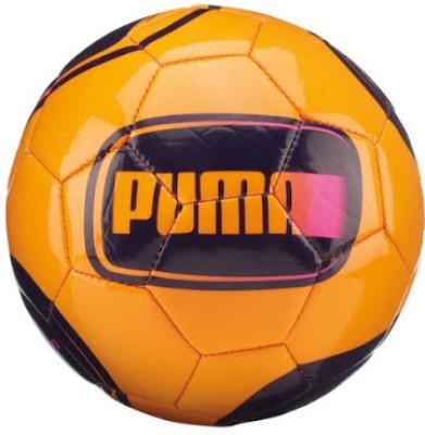 Puma Evo Speed 5.2 Football -   Size: 5(Pack of 1, Orange)