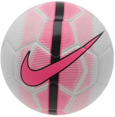 Nike Mercurial Veer Football -   Size: 5(Pack of 1, White, Pink, Black)  available at flipkart for Rs.1495
