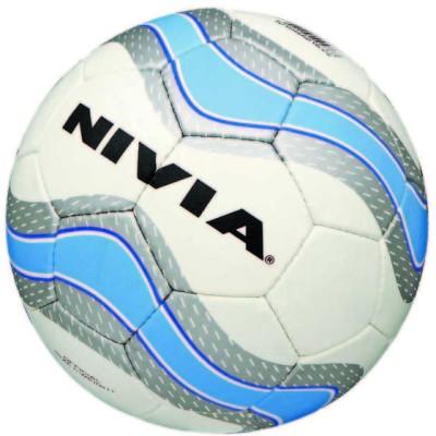 NIVIA PU Football   Size: 4 White, Blue NIVIA Footballs