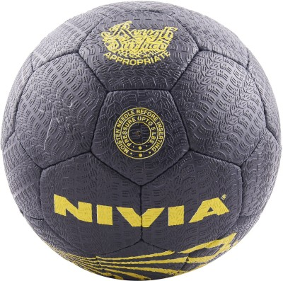 Nivia Street Syn Football -   Size: 5(Pack of 1, Black)  available at flipkart for Rs.699