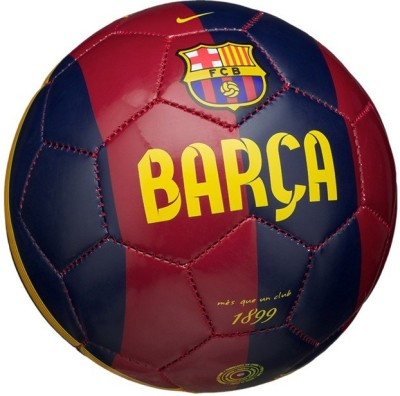 RetailWorld Barca Football -   Size: 5(Pack of 1, Multicolor)