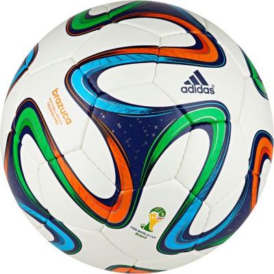 ADIDAS Brazuca Train Pro Football   Size: 5 Multicolor
