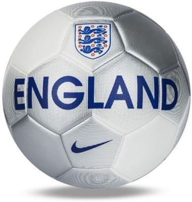 Nike England Prestige Football - Size: 5(Pack of 1, Silver) at flipkart