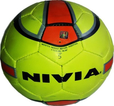 Nivia Fb-281 Football -   Size: 5(Pack of 1, Multicolor)