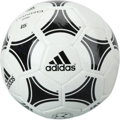 ADIDAS TANGO GLIDER Football - Size: 5(Pack of 1, White, Black)
