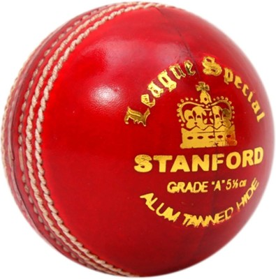 SF League Special Cricket Leather Ball(Pack of 1, Red)  available at flipkart for Rs.825