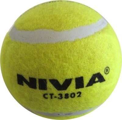 Nivia Cricket Tennis Ball(Pack of 6, Yellow)  available at flipkart for Rs.325