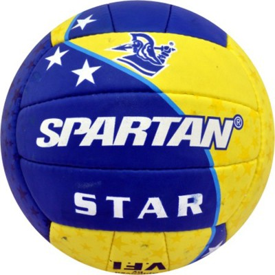 Spartan STAR VOLLEY Volleyball - Size: 4(Pack of 1, Multicolor)