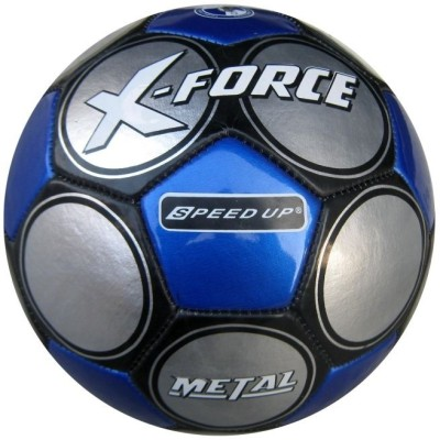 Speed Up X Force Football   Size: 5 Pack of 1, Silver, Blue Speed Up Footballs