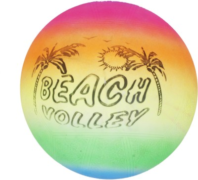 Metro Sports Beach Plaything volleyball -   Size: 4(Pack of 1, Multicolor)  available at flipkart for Rs.186