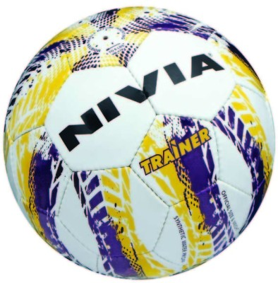Nivia Trainer Football - Size: 4(Multicolor)  available at flipkart for Rs.540