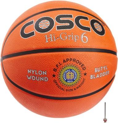 COSCO Hi Grip Basketball   Size: 6 Pack of 1, Orange COSCO Basketballs