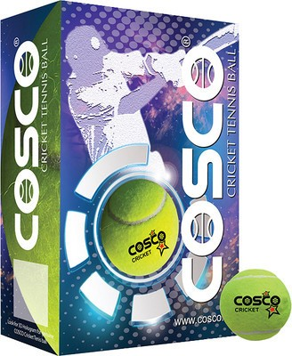 Cosco Cricket Ball(Pack of 6, Yellow)  available at flipkart for Rs.299