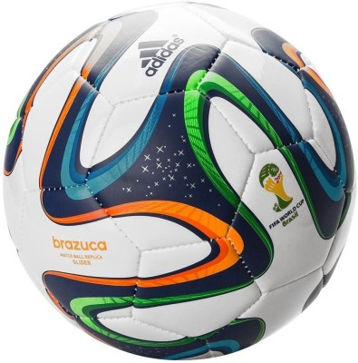 ADIDAS Brazuca Glider Match Replica Football   Size: 5