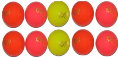 Sunny KSI WIND Cricket Rubber Ball Pack of 10, Multicolor Sunny KSI Cricket Balls