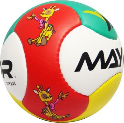 Mayor Titan Mini Ball Football   Size: 1 Pack of 1, Multicolor