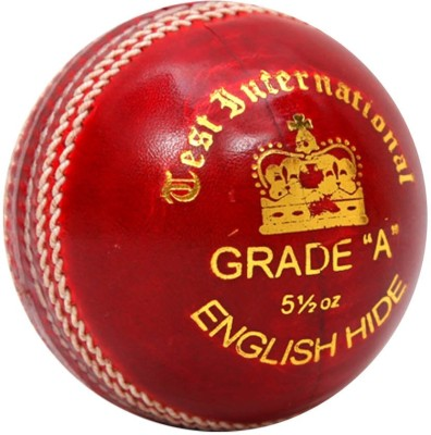 SF Test International Cricket Leather Ball(Pack of 1, Red)  available at flipkart for Rs.1405
