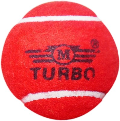 TURBO HEAVY WEIGHT tennis Ball(Pack of 1, Red, Yellow, Orange, White)  available at flipkart for Rs.120
