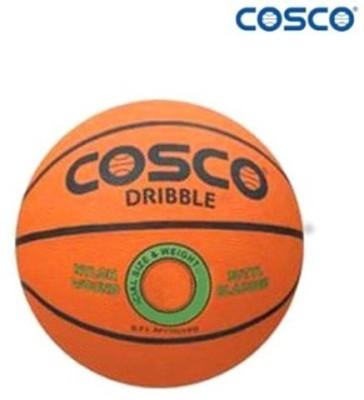 COSCO Dribble Basketball   Size: 5 Pack of 1, Orange COSCO Basketballs