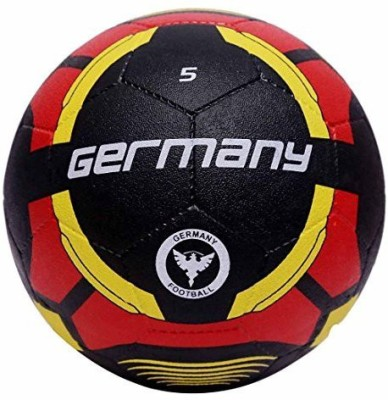 Vector X Germany Rubber Moulded Football   Size: 5 Pack of 1, Red, Black Vector X Footballs