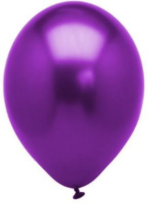 Ziggle Solid PUR88 Balloon(Purple, Pack of 25)