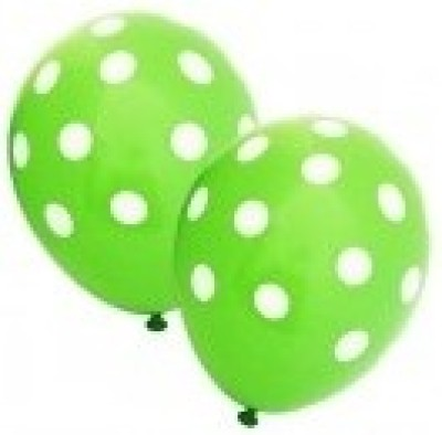 Party Anthem Printed PAPDBG03 Balloon(Green, Pack of 20)