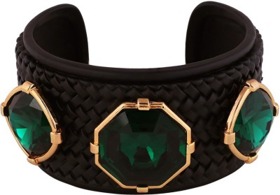 Shaze Brass Crystal Cuff at flipkart