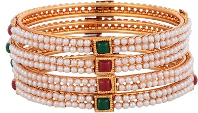 PCHALK Alloy Bangle Set(Pack of 4) at flipkart
