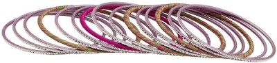 Voylla Cotton Dori Bangle Set(Pack of 15) at flipkart