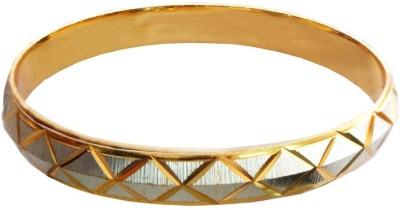 Rich & Famous Brass Yellow Gold Kada at flipkart