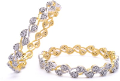 Hyderabad Jewels Alloy, Silver Bangle Set(Pack of 2) at flipkart