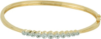 Jewelscart.in Alloy, Brass Cubic Zirconia Rhodium, Gold-plated Bracelet at flipkart
