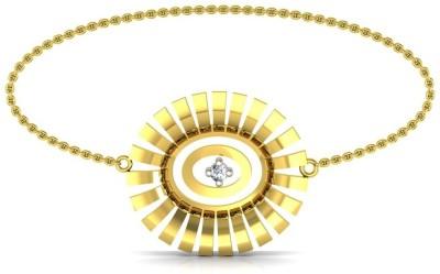 Avsar Ujavala Yellow Gold 18kt Diamond Bracelet at flipkart