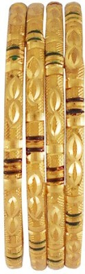 Rejewel Alloy Gold-plated Bangle(Pack of 4) at flipkart
