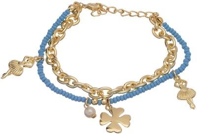 Crunchy Fashion Jewellery Alloy Bracelet at flipkart