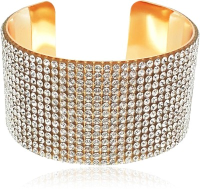 You Bella Alloy Crystal Bangle at flipkart