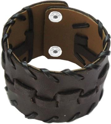 Rich & Famous Leather Bracelet at flipkart