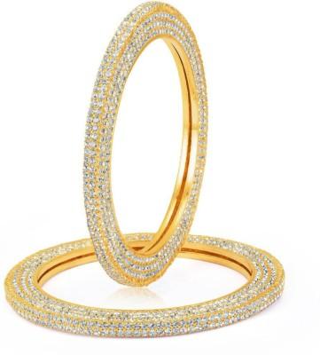 Sukkhi Alloy Gold-plated Bangle Set(Pack of 2) at flipkart