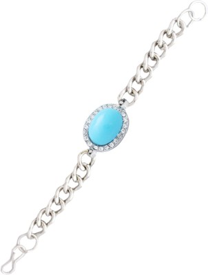 Rich & Famous Steel Bracelet at flipkart