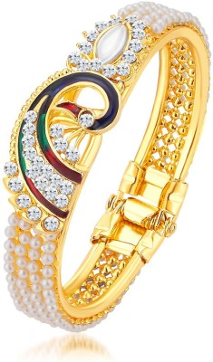 Sukkhi Alloy 18K Yellow Gold Kada at flipkart