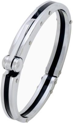 The Jewel Box Stainless Steel Cubic Zirconia Kada at flipkart