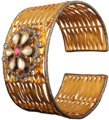Mirror White Silver Cuff at flipkart